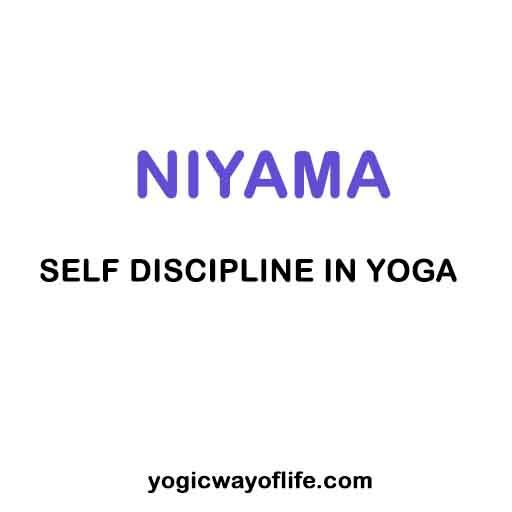 Niyama - Self Discipline in Yoga