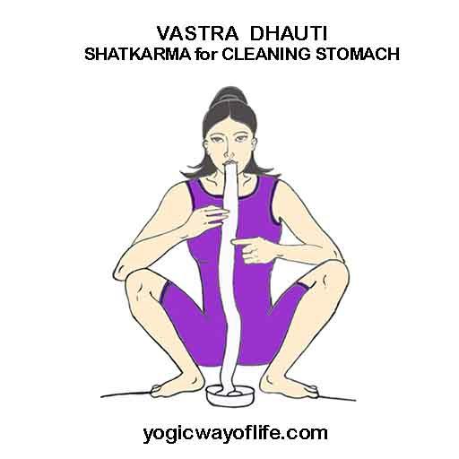 Vastra Dhauti - Shatkarma