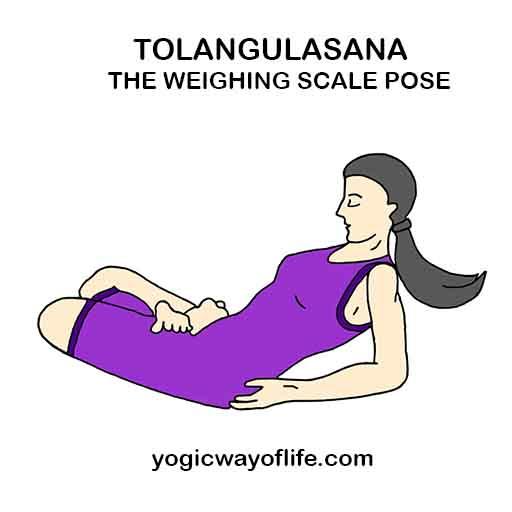 Tolangulasana - Weighing Scale Pose