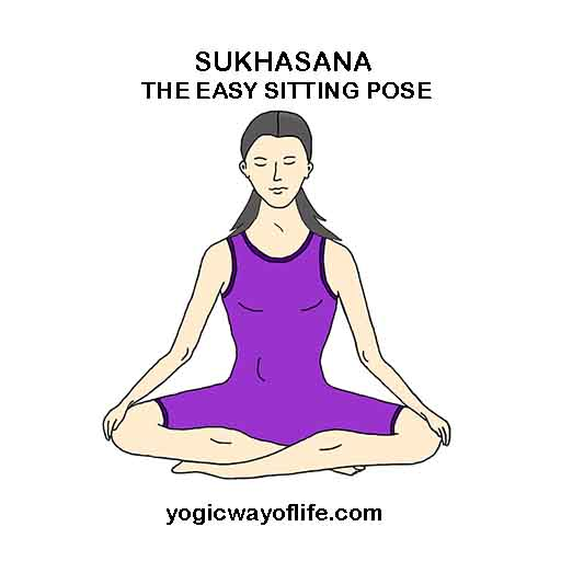 SUKHASANA - Easy Sitting Pose