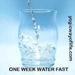 One Week Water Fast