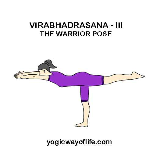 Virabhadrasana III - Warrior Pose
