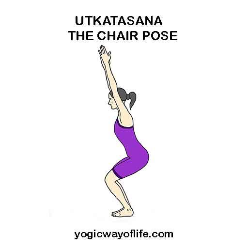 Utkatasana - Chair Pose