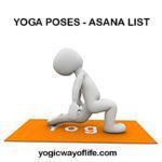 Yoga Poses - Asana List, Yoga Asana Postures