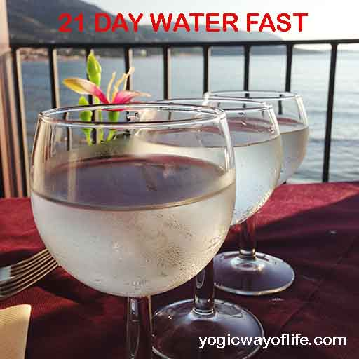 21 DAY WATER FAST